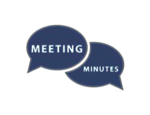 Meeting Minutes for March 25, 2019